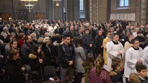 Misa večere Gospodnje u đakovačkoj katedrali