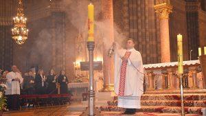 Vazmeno bdijenje u đakovačkoj katedrali