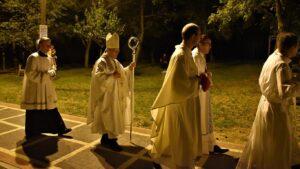Mons. Hranić slavio misu uočnicu u Dragotinu