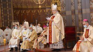 Veliki četvrtak – Misa posvete ulja u đakovačkoj katedrali